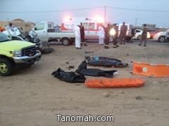 وفاة عائلة في حادث مروع على طريق الملك عبدالله