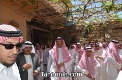 سلطان بن سلمان يناقش تطوير السياحة ويتابع مشاريعها في عسير.. اليوم