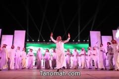 البروفات النهائية لحفل افتتاح مهرجان أبها يجمعنا