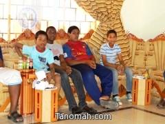 أيتام دار التربية الاجتماعية للبنين بأبها في زيارة لمدينة تنومة