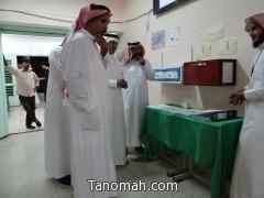 مشرف وزاري يزور نادي الملك عبدالعزيز الموسمي بتنومة