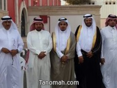 العميد بن دروم يحتفل بزواج نجله