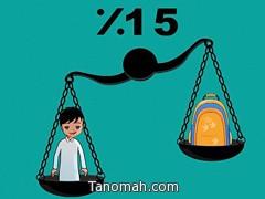 «التربية» تطلق حملة لاختيار الوزن المناسب للحقائب المدرسية