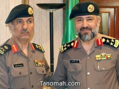 مدير شرطة منطقة مكة المكرمة يقلد محمد الشهري رتبته الجديدة