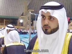 سعود علي حمود في دورة الضباط الجامعيين