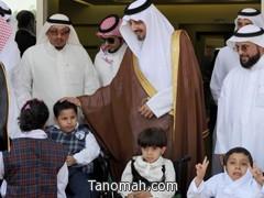 أمير منطقة عسير يتفقد سير العملية التعليمية في جمعية الأطفال المعوقين