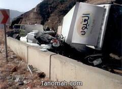 ثلاث إصابات بليغة في حادث بعقبة ضلع