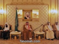 أمير عسير يلتقي بمديري الإدارات الحكومية في جلسة سموه الأسبوعية