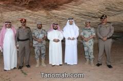 تغطية مصورة  لزيارة سمو أمير منطقة عسير لقطاع حرس الحدود بظهران الجنوب