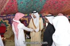 أمير عسير يقدم العزاء لأسرة الداعية الشيخ الشهراني