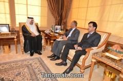 أمير عسير يستقبل القنصل العام الباكستاني
