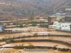 """أمطار تنومة وبللسمر اليوم الثلاثاء في """"صور"""""""