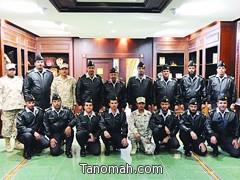 ترقية محمد بن سعود الشهري لرتبة ملازم أول