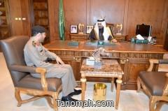 أمير عسير يستقبل مدير الشرطة المكلف