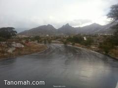 أمطار على عسير شملت تنومة والنماص والمجاردة والدفاع المدني يؤكد عدم وجود حوادث مصاحبة