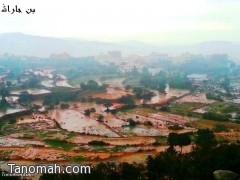 بالصور : أمطار تنومة والنماص ليوم الثلاثاء