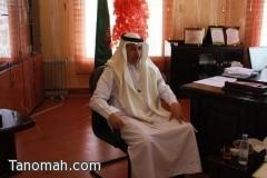 وكيل جامعة الملك خالد يتفقد سير الإختبارات في كليات النماص