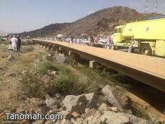 وفاة وإصابة 10 أشخاص في حادثين مروريين بمحافظة بارق ومركز ثربان..