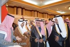 وكيل إمارة عسير يفتتح المعرض السعودي الثاني للتوظيف بأبها