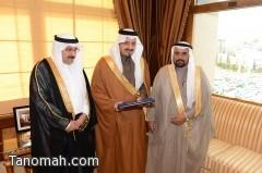 أمير عسير يتسلم تقرير الخطوط السعودية