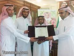 إدارة المراكز الصحية والطب الوقائي بمحافظة تنومة تكرم الدكتور زهير