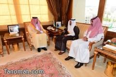 أمير عسير يستقبل رئيس لجنة حقوق الإنسان العربية