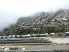 أمطار خفيفة ومتوسطة على منطقة عسير