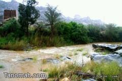 تقرير مصور عن أمطار السبت 1435/5/28هـ (بللسمر - تنومة -النماص)