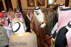 أمير منطقة عسير يتلقى البيعة نيابةً عن سمو ولي ولي العهد
