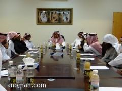 الهزاني يجتمع برؤساء لجان احتفال أهالي محافظة تنومة بسمو أمير المنطقة