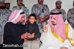 أمير عسير ينقل تعازي القيادة لأسرة الشهيد القحطاني