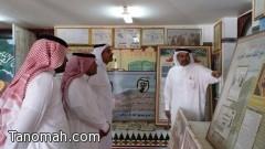 مستشار للأشراف على عروض المتاحف الخاصة في منطقة عسير