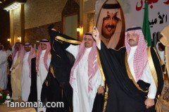 أبناء قبيلة بني شهر في نجران يحتفون بالأمير تركي بن طلال