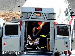وفاه و١١إصابة في حادث مروري على طريق خميس البحر. فجر اليوم