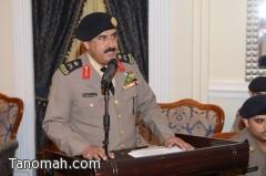 اللواء محمد الشهري يقدم لأمير عسير شرحاً مفصلاً عن دور الدفاع المدني في الحماية المدنية