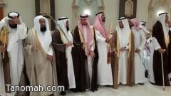 العميد علي بن فهد بحتفل بزواج نجله الملازم فهد