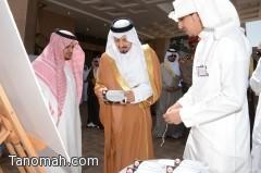 أمير عسير يرعى حفل تخريج 12163 طالباً وطالبة بجامعة الملك خالد