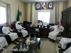 فريق إعداد القادة يزور مكتب التربية والتعليم ببني عمرو