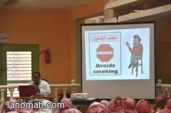 مستشفى تنومة يقيم عدد من المحاضرات التوعوية بمرض كورونا