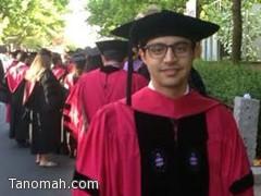 عبدالمنعم الشهري يحصل على درجة الدكتوراة في جراحة الوجه والفكين