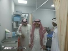 مدير الشؤون الصحية بعسير يتفقد مستشفى تنومة