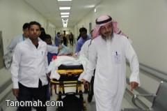 تنفيذ عملية نقل قسم الأطفال من مستشفى عسير المركزي الى مستشفى الولادة والأطفال بأبها