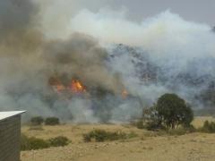 مدني عسير : تمت السيطرة على حريق تنومة وسببه عبث مجهولين