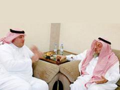 أمين عسير وآل الشيخ  يتفقان على طي صفحة الخلافات بين الأمانة والصحيفة