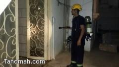 ماس كهربائي يتسبب في حريق شقة بمحايل عسير