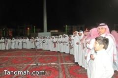 بالصور ...أهالي أبها يحتفلون بالعيد على أهازيج حب الوطن والتمسك بحمايته