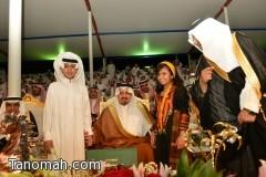 حفل أهالي تنومة بمناسبة زيارة سمو أمير عسير على قناة الساحة مساء الإثنين القادم