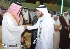 أمير عسير يطلق المهرجان السعودي الإماراتي