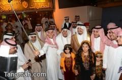 أمير عسير يختتم فعاليات المهرجان السعودي الإماراتي