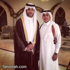 حارس نادي النصر السعودي يحتفل بزواجة في أبها